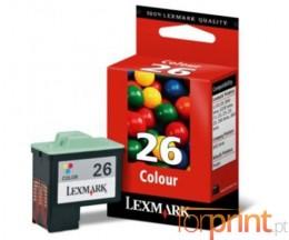 Cartucho de Tinta Original Lexmark 26 Colores 13.8ml ~ 275 Paginas