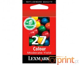 Cartucho de Tinta Original Lexmark 27 Colores 9.2ml ~ 220 Paginas