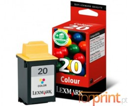 Cartucho de Tinta Original Lexmark 20HC Colores 24.2ml ~ 450 Paginas