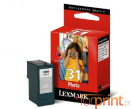Cartucho de Tinta Original Lexmark 31 Colores Foto 20ml ~ 135 Paginas