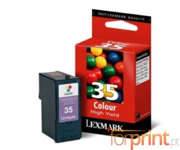 Cartucho de Tinta Original Lexmark 35 Colores 21ml ~ 450 Paginas