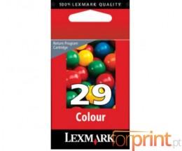 Cartucho de Tinta Original Lexmark 29 Colores ~ 150 Paginas