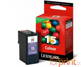 Cartucho de Tinta Original Lexmark 15 Colores 15.7ml ~ 150 Paginas