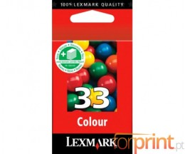 Cartucho de Tinta Original Lexmark 33 Colores 11.5ml ~ 190 Paginas