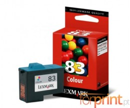 Cartucho de Tinta Original Lexmark 83HC Colores 19.2ml ~ 200 Paginas