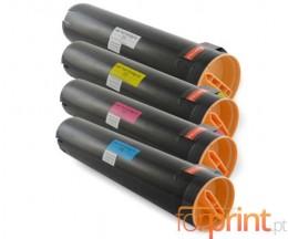 4 Cartuchos de Toneres Compatibles, Lexmark C930H2 ~ 38.000 / 24.000 Paginas