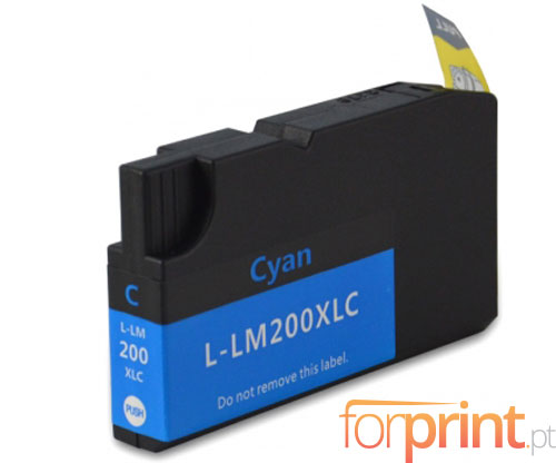 Cartucho de Tinta Compatible Lexmark 200 XL / 210 XL Cyan 32ml