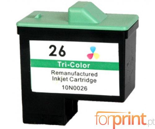 Cartucho de Tinta Compatible Lexmark 26 / 27 Colores 12ml