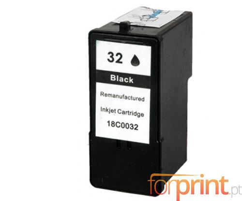 Cartucho de Tinta Compatible Lexmark 32 Negro 21ml