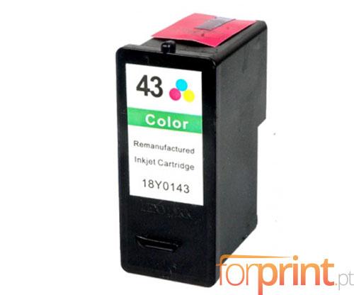 Cartucho de Tinta Compatible Lexmark 43 XL Colores 15ml