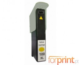 Cartucho de Tinta Compatible Lexmark 100 XL Amarillo 12.5ml