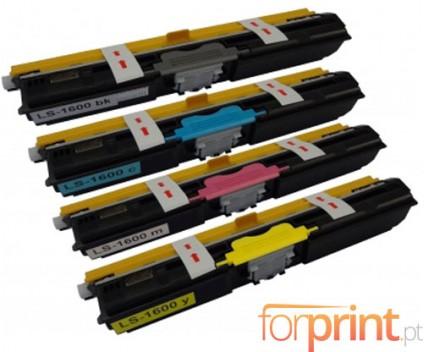 4 Cartuchos de Toneres Compatibles, OKI 4425072X ~ 2.500 Paginas