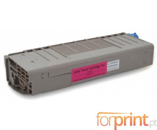 Cartucho de Toner Compatible OKI 44318606 Magenta ~ 11.500 Paginas