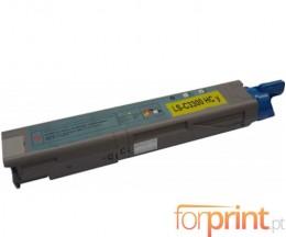Cartucho de Toner Compatible OKI 43459433 / 43459329 Amarillo ~ 2.500 Paginas