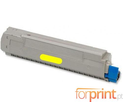 Cartucho de Toner Compatible OKI 43487709 Amarillo ~ 6.000 Paginas