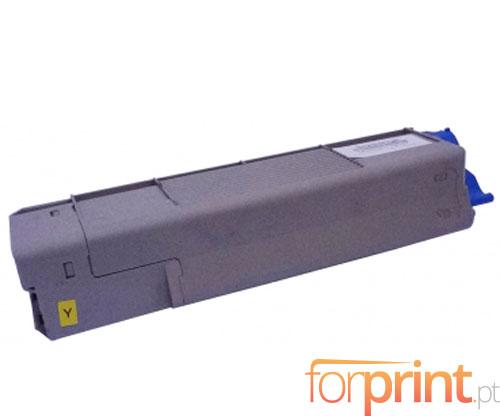 Cartucho de Toner Compatible OKI 43865721 Amarillo ~ 6.000 Paginas