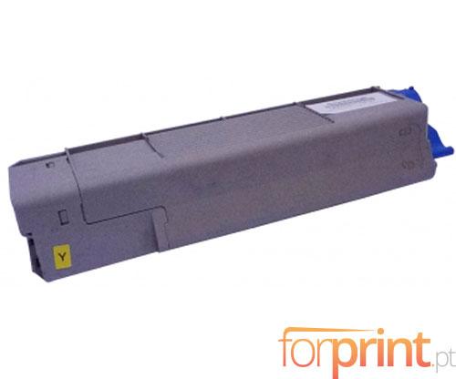 Cartucho de Toner Compatible OKI 43872305 Amarillo ~ 2.000 Paginas