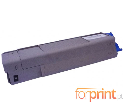 Cartucho de Toner Compatible OKI 43324408 Negro ~ 6.000 Paginas