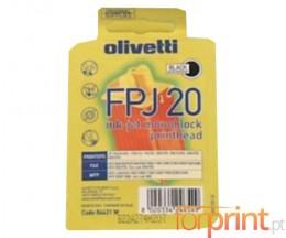 Cartucho de Tinta Original Olivetti FPJ-20 Negro 24ml ~ 360 Paginas