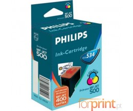Cartucho de Tinta Original Philips PFA534 Colores ~ 500 Paginas