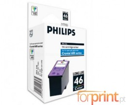 Cartucho de Tinta Original Philips PFA546 / 46 Colores ~ 1.000 Paginas