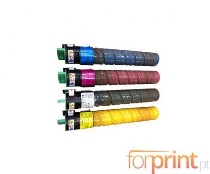 4 Cartuchos de Toneres Compatibles, Ricoh 84112X Negro + Colores ~ 20.000 / 16.000 Paginas