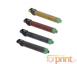 4 Cartuchos de Toneres Compatibles, Ricoh 82011X Negro + Colores ~ 20.000 / 15.000 Paginas