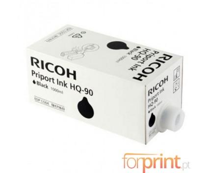 6 Cartuchos de tinta Originales, Ricoh 817161 Negro 1000ml