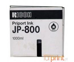 6 Cartuchos de tinta Originales, Ricoh 893107 Negro 1000ml