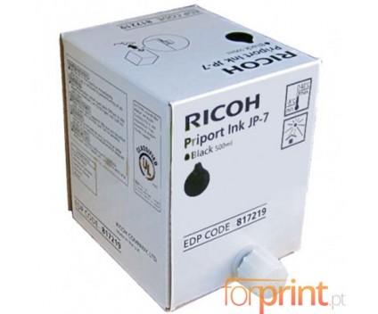 5 Cartuchos de tinta Originales, Ricoh 893713 Negro 500ml