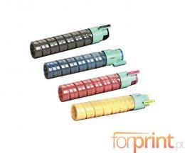 4 Cartuchos de Toneres Compatibles, Ricoh 88831X Negro + Colores ~ 15.000 Paginas