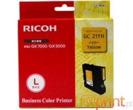 Cartucho de Tinta Original Ricoh GC-21 YH Amarillo ~ 2.300 Paginas