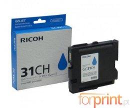 Cartucho de Tinta Original Ricoh GC-31 HC Cyan ~ 4.000 Paginas