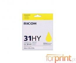 Cartucho de Tinta Original Ricoh GC-31 HY Amarillo ~ 4.000 Paginas