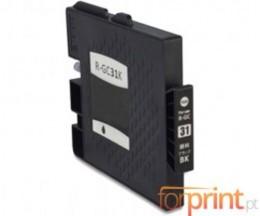Cartucho de Tinta Compatible Ricoh GC-31 / GC-31 XXL Negro 78ml