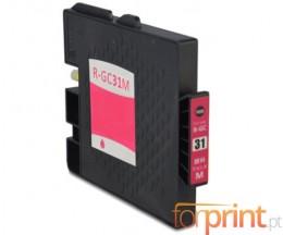 Cartucho de Tinta Compatible Ricoh GC-31 / GC-31 XXL Magenta 64ml