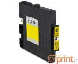 Cartucho de Tinta Compatible Ricoh GC-31 / GC-31 XXL Amarillo 64ml