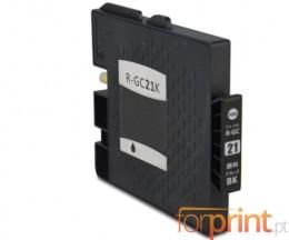 Cartucho de Tinta Compatible Ricoh GC-21 / GC-21 XXL Negro 78ml