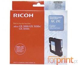 Cartucho de Tinta Original Ricoh GC-21 C Cyan ~ 1.000 Paginas