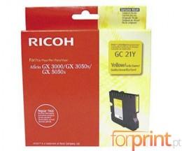Cartucho de Tinta Original Ricoh GC-21 Y Amarillo ~ 1.000 Paginas
