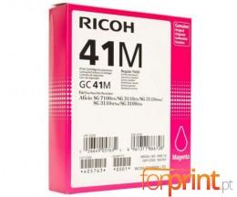 Cartucho de Tinta Original Ricoh GC-41 Magenta ~ 2.200 Paginas