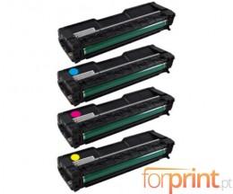 4 Cartuchos de Toneres Compatibles, Ricoh 4064XX Negro + Colores ~ 6.500 / 6.000 Paginas