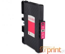 Cartucho de Tinta Compatible Ricoh GC-41 / GC-41 XXL Magenta 22ml