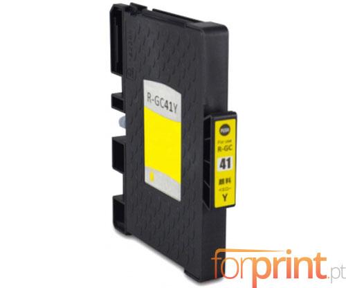 Cartucho de Tinta Compatible Ricoh GC-41 / GC-41 XXL Amarillo 22ml