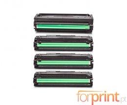 4 Cartuchos de Toneres Compatibles, Samsung 503L Negro + Colores ~ 8.000 / 5.000 Paginas