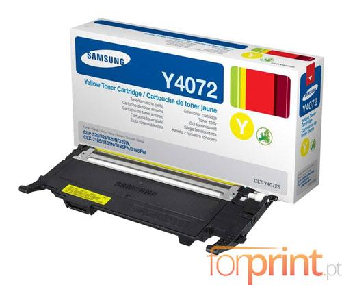 Cartucho de Toner Original Samsung 4072S Amarillo ~ 1.000 Paginas