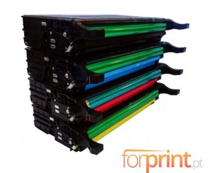 4 Cartuchos de Toneres Compatibles, Samsung 5082L Negro + Colores 5.000 / 4.000 Pages