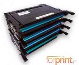 4 Cartuchos de Toneres Compatibles, Samsung 600A Negro + Colores ~ 4.000 Paginas