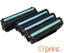 4 cartuchos de toneres Compatibles, Samsung 504S Negro + Colores ~ 2.500 / 1.800 Pages