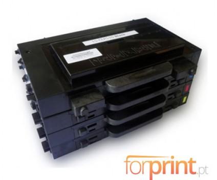 4 Cartuchos de Toneres Compatibles, Samsung 510D Negro + Colores 7.000 / 5.000 Pages